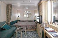 Navigator interior stateroom