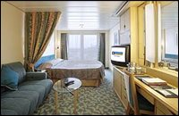 Navigator oceanview stateroom with balcony