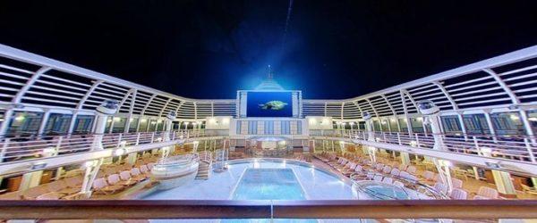 P_O_Cruises_Azura_Exterior_Sea_Screen_Cinema_Night