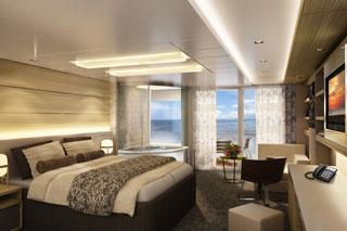 Norwegian Breakaway Spa Suite