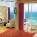 MSC Fantasia Balcony Cabin